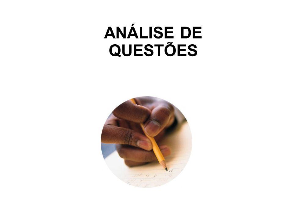 ANÁLISE DE QUESTÕES 81
