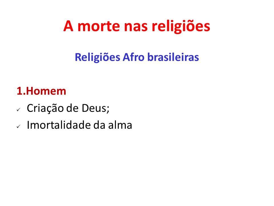 Religiões Afro brasileiras