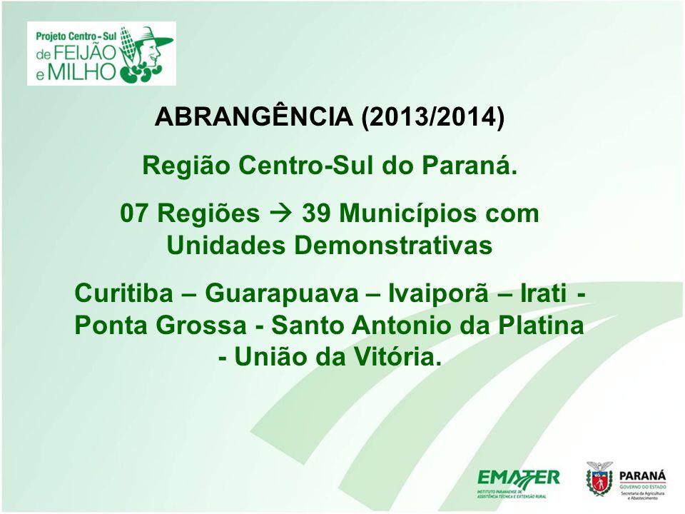 Região Centro-Sul do Paraná.