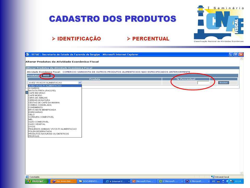 CADASTRO DA ATIVIDADE ECONÔMICA FISCAL