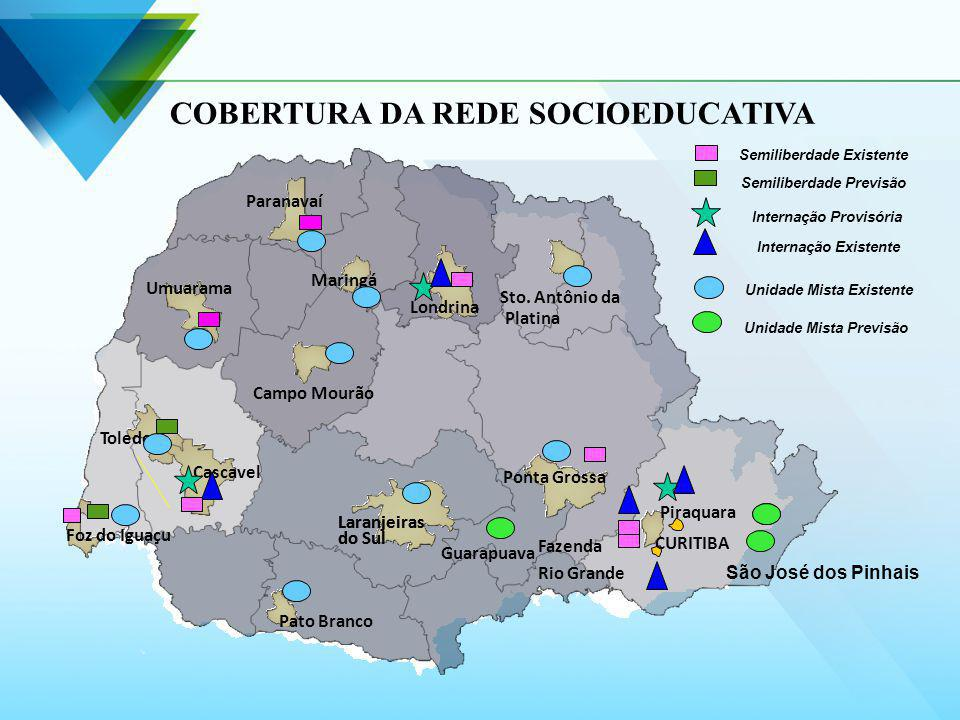 COBERTURA DA REDE SOCIOEDUCATIVA
