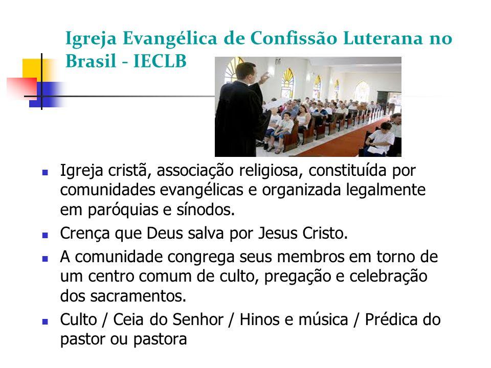 Igreja Evangélica de Confissão Luterana no Brasil - IECLB