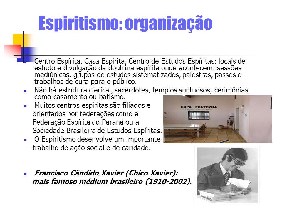 Espiritismo: organização