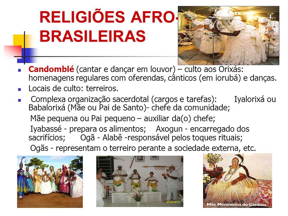RELIGIÕES AFRO- BRASILEIRAS