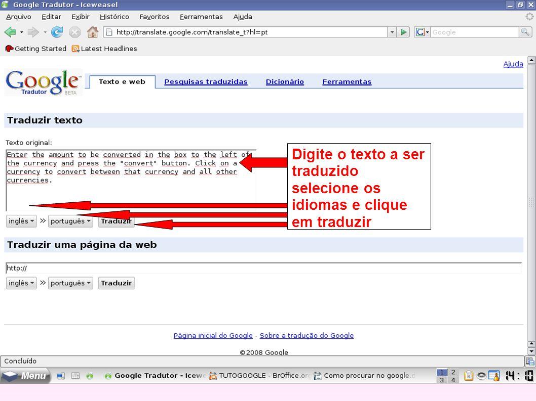 Digite o texto a ser traduzido