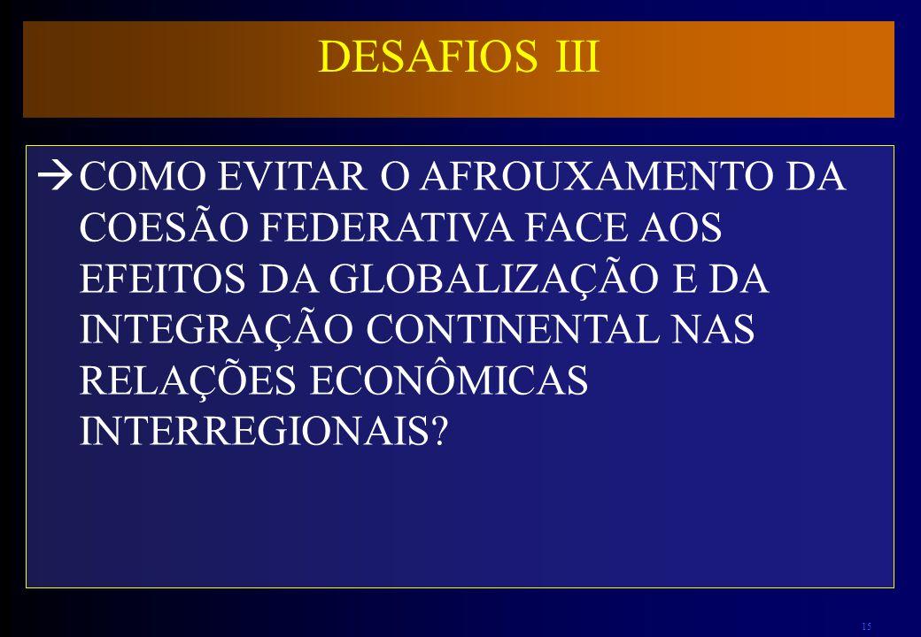 DESAFIOS III