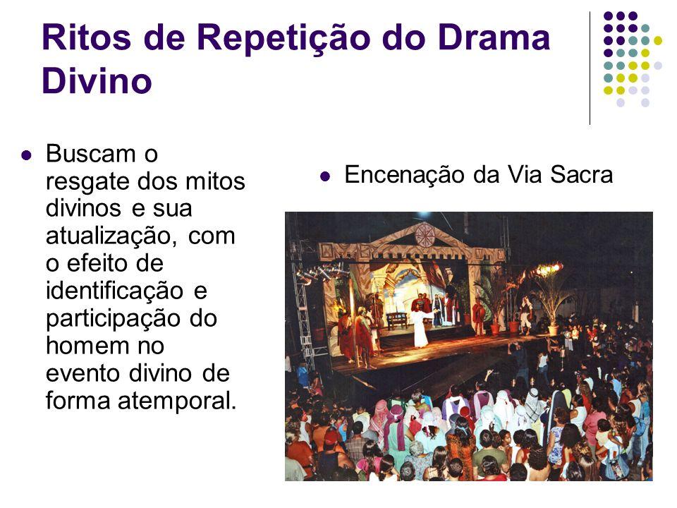 Ritos de Repetição do Drama Divino