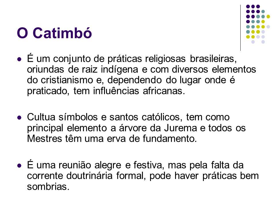 O Catimbó
