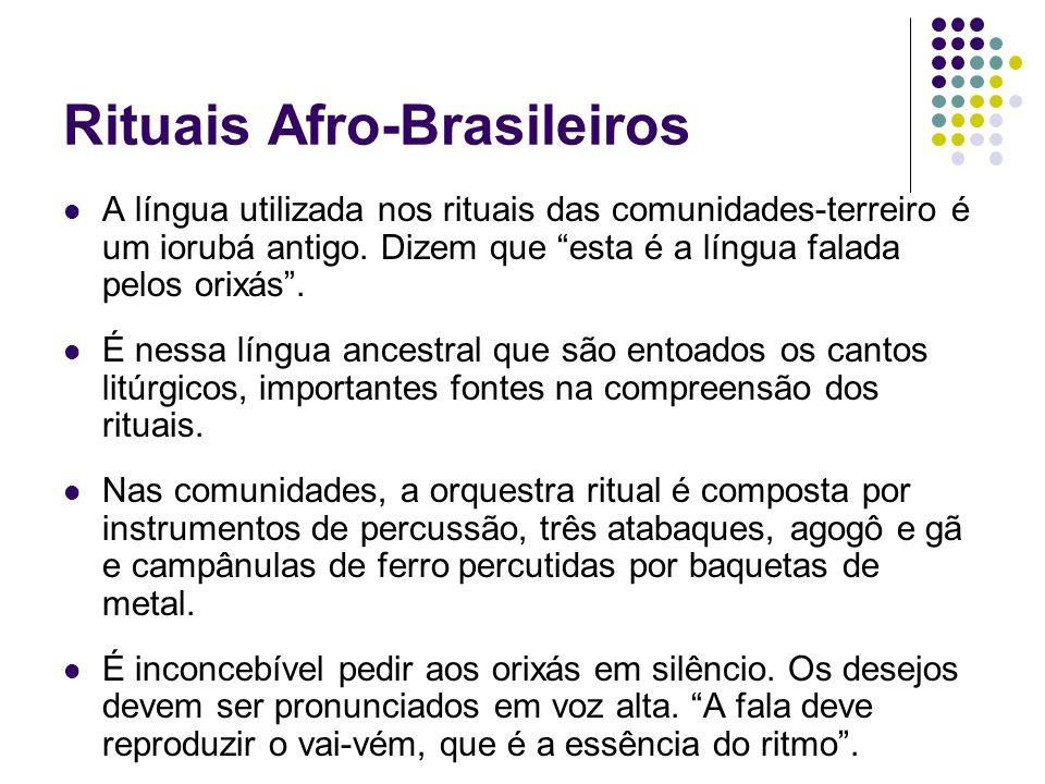 Rituais Afro-Brasileiros