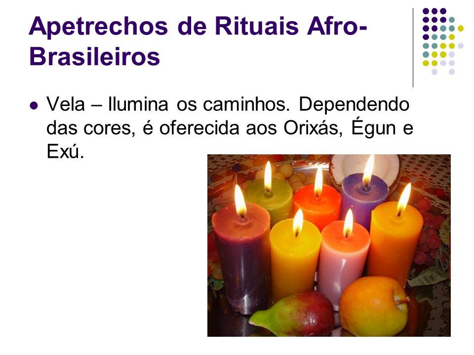 Apetrechos de Rituais Afro-Brasileiros