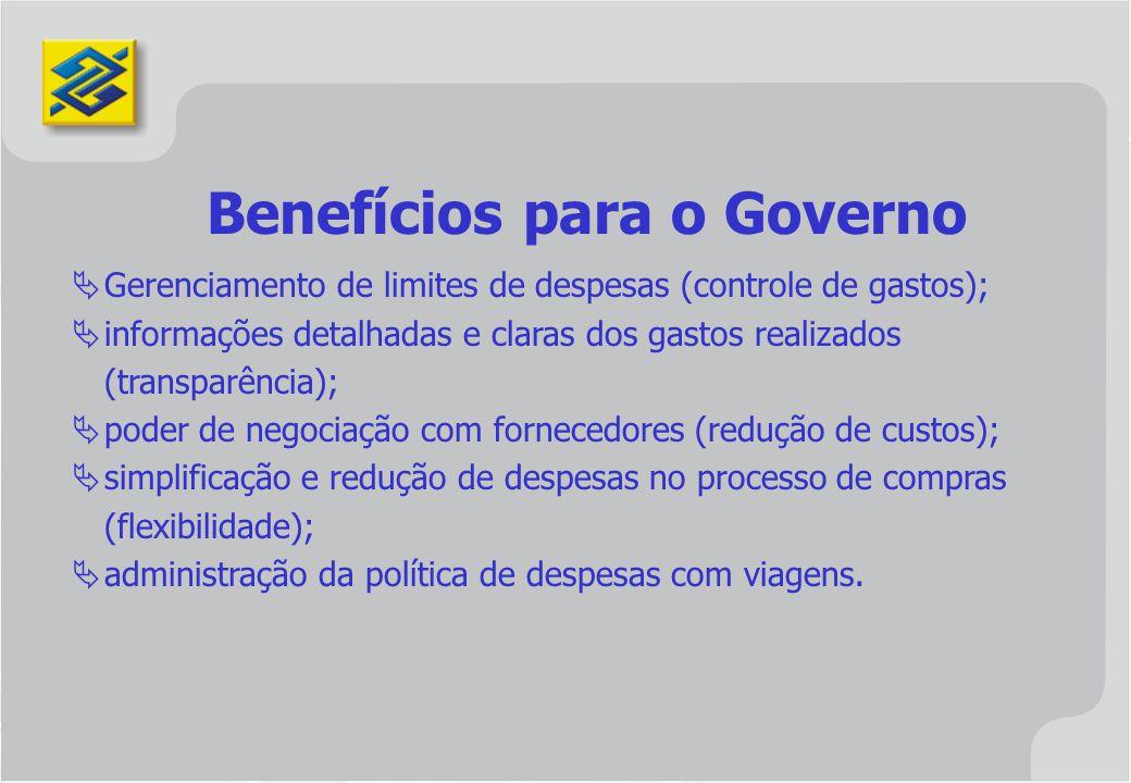 Benefícios para o Governo