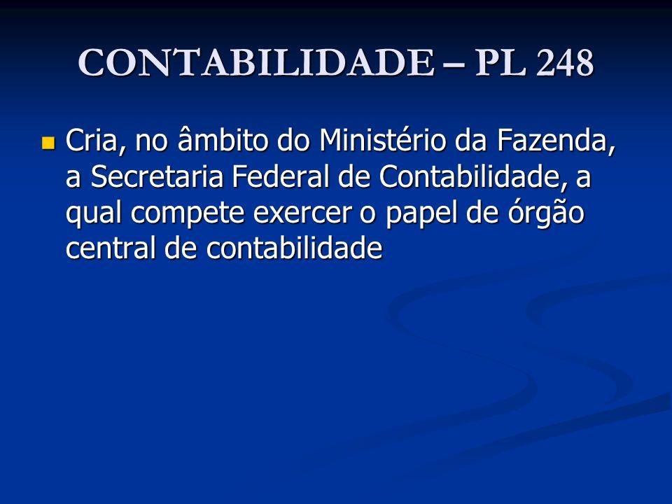 CONTABILIDADE – PL 248