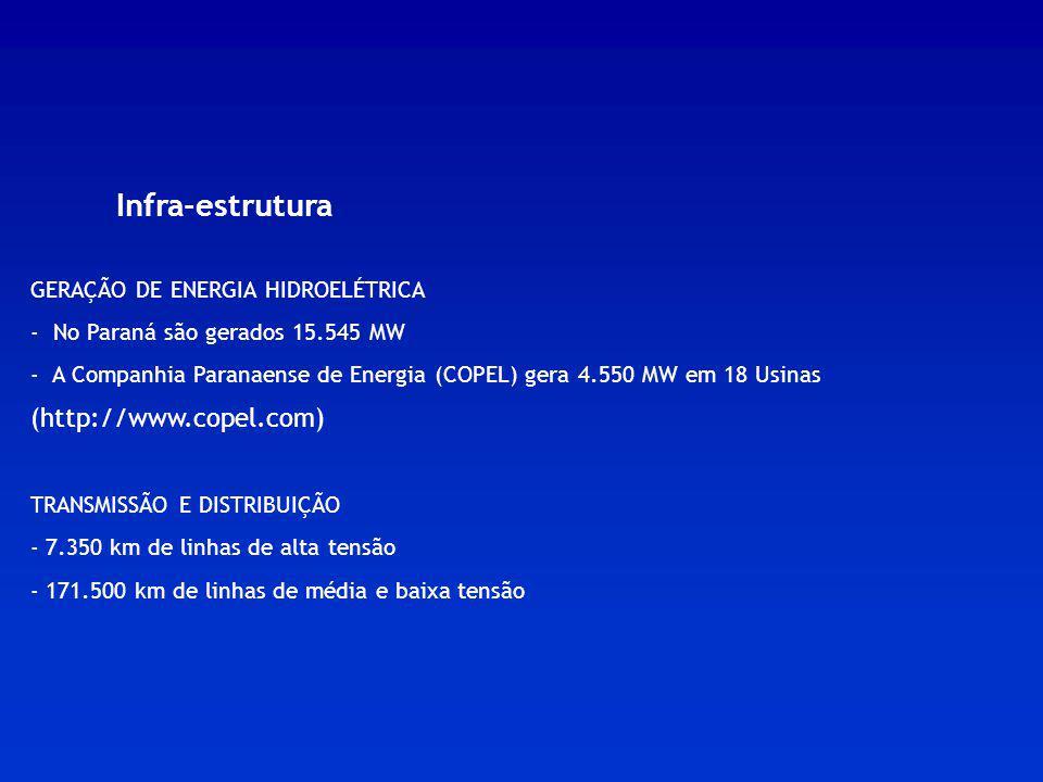 Infra-estrutura (http://www.copel.com)
