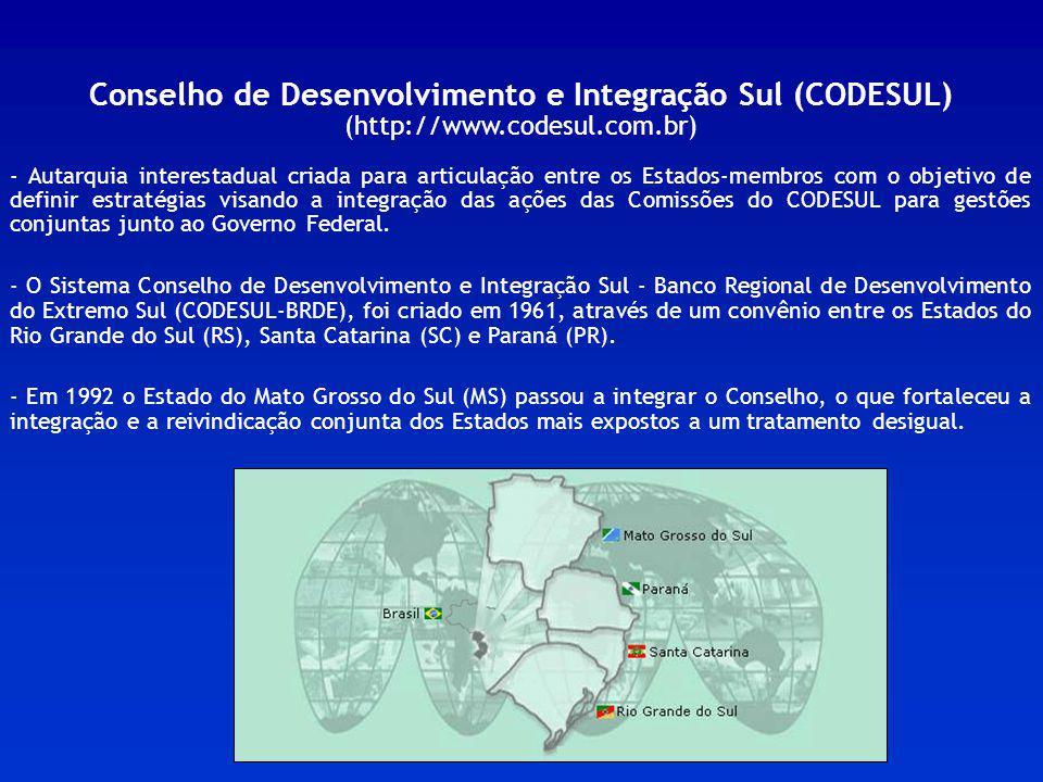 Conselho de Desenvolvimento e Integração Sul (CODESUL)