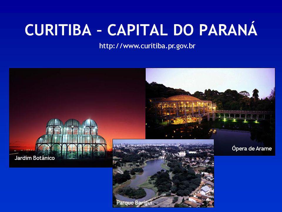 CURITIBA – CAPITAL DO PARANÁ
