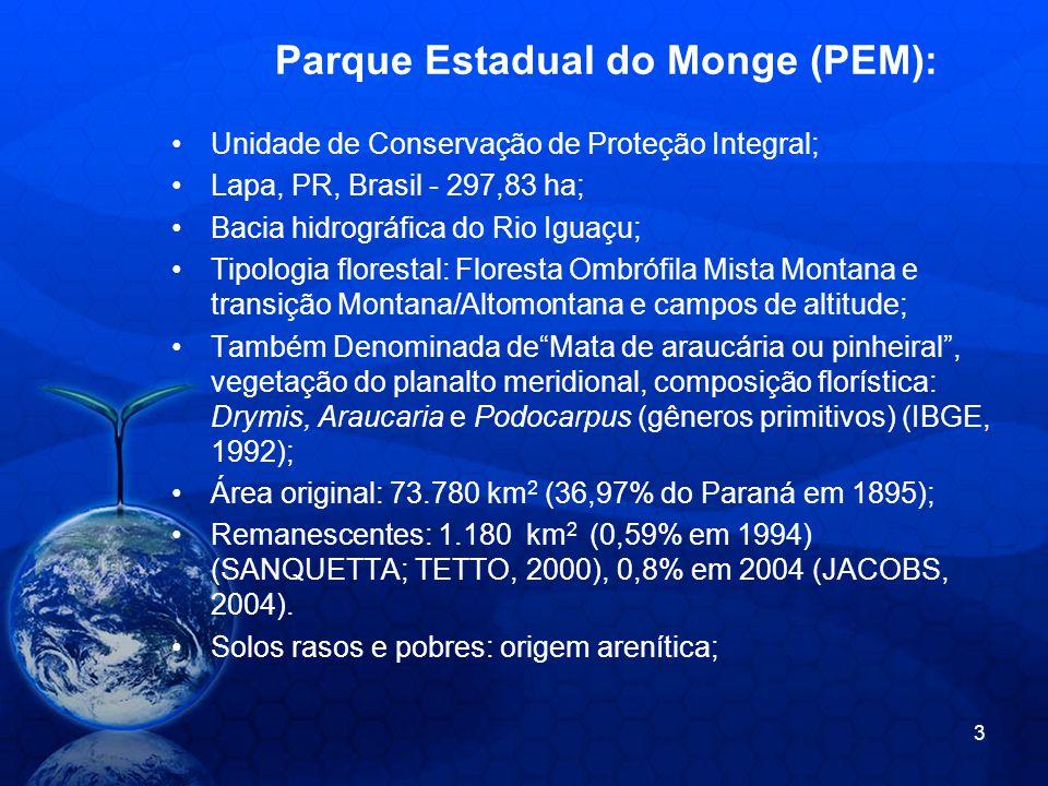 Parque Estadual do Monge (PEM):