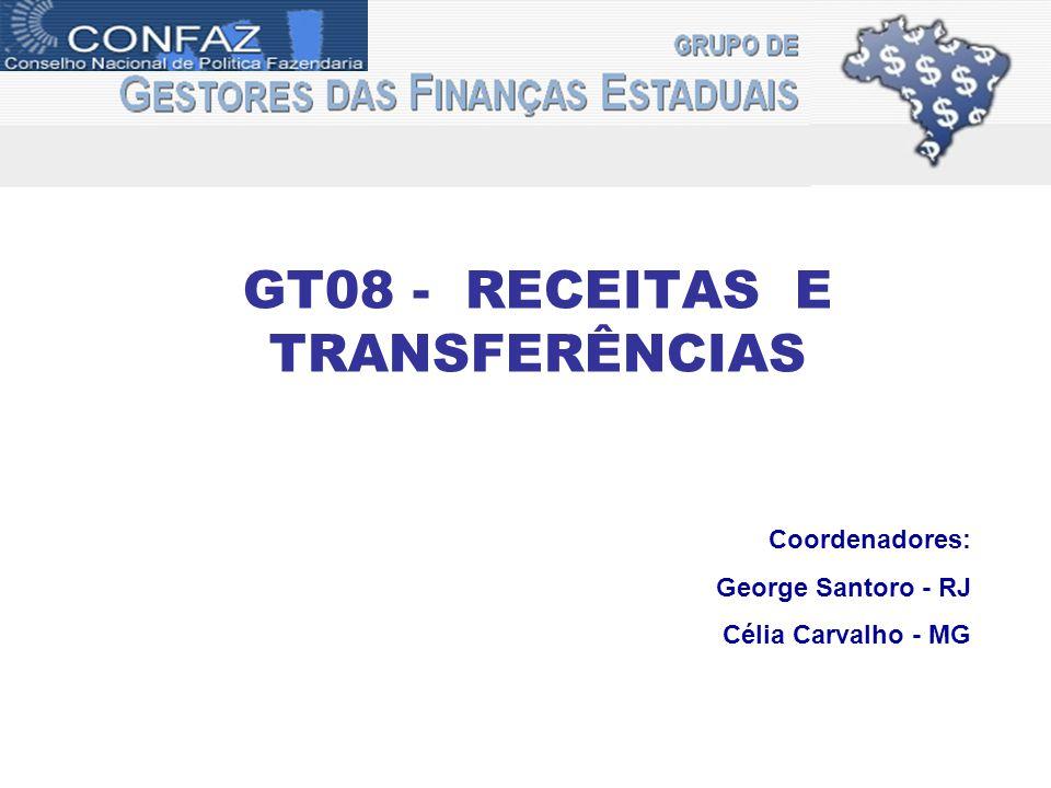 GT08 - RECEITAS E TRANSFERÊNCIAS