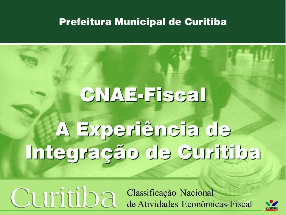 A Experiência de Integração de Curitiba