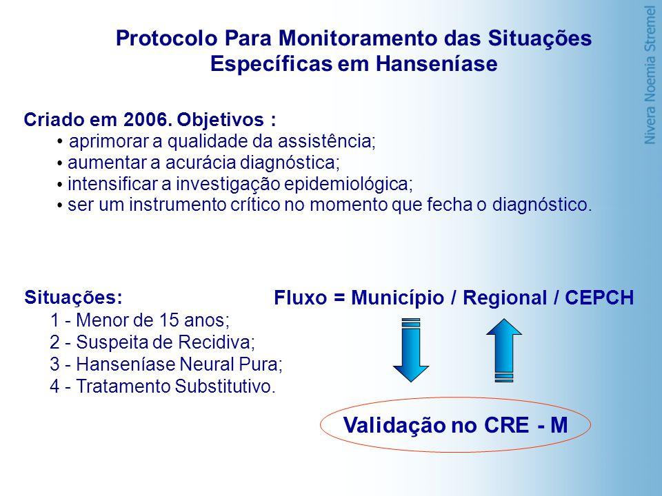 Protocolo Para Monitoramento das Situações Específicas em Hanseníase