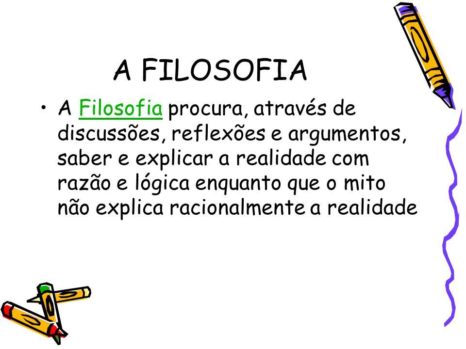 A FILOSOFIA