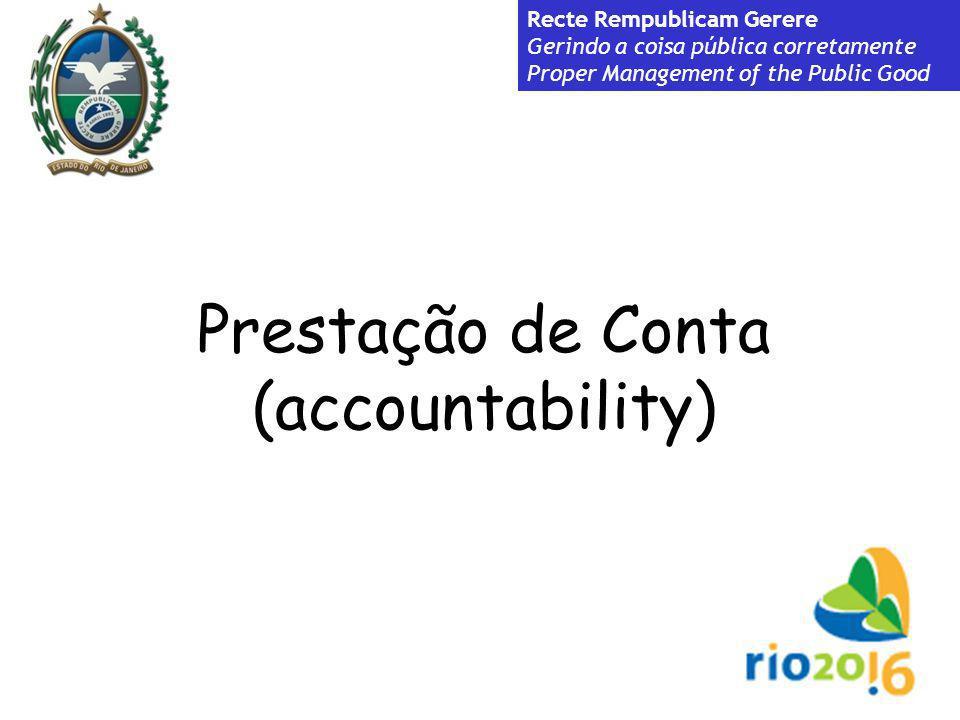 Prestação de Conta (accountability)