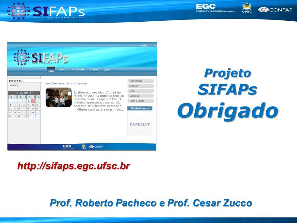 Projeto SIFAPs Obrigado