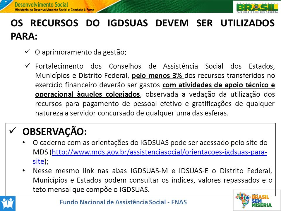 Fundo Nacional de Assistência Social - FNAS