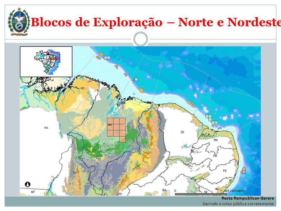 Blocos de Exploração – Norte e Nordeste
