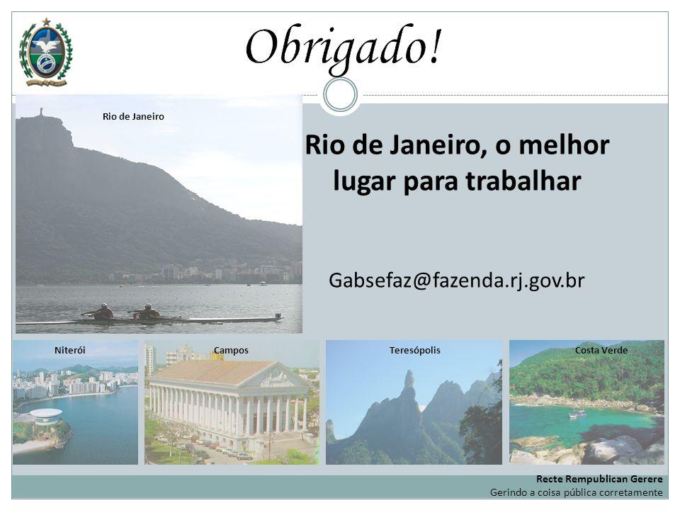Rio de Janeiro, o melhor lugar para trabalhar