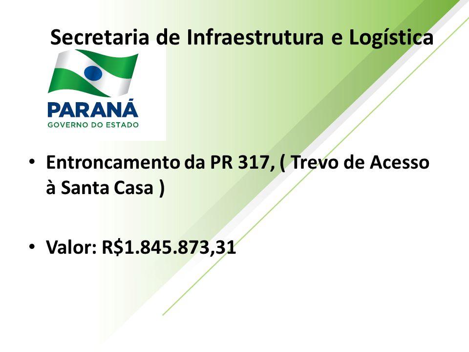 Secretaria de Infraestrutura e Logística