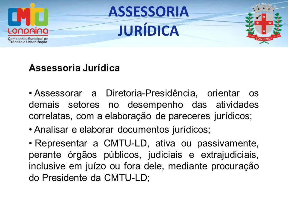 ASSESSORIA JURÍDICA Assessoria Jurídica