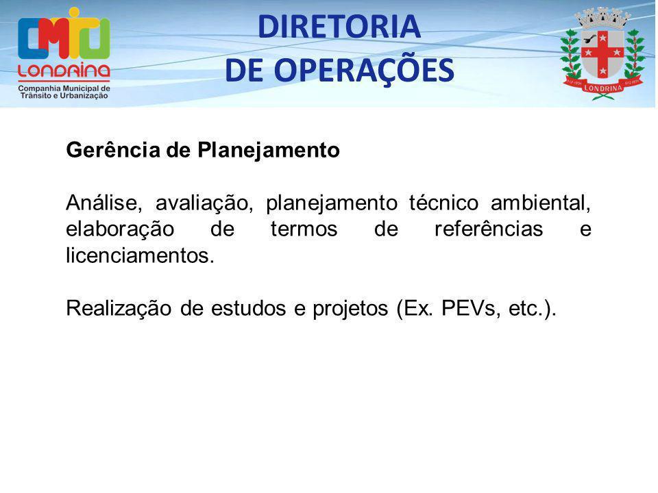 DIRETORIA DE OPERAÇÕES