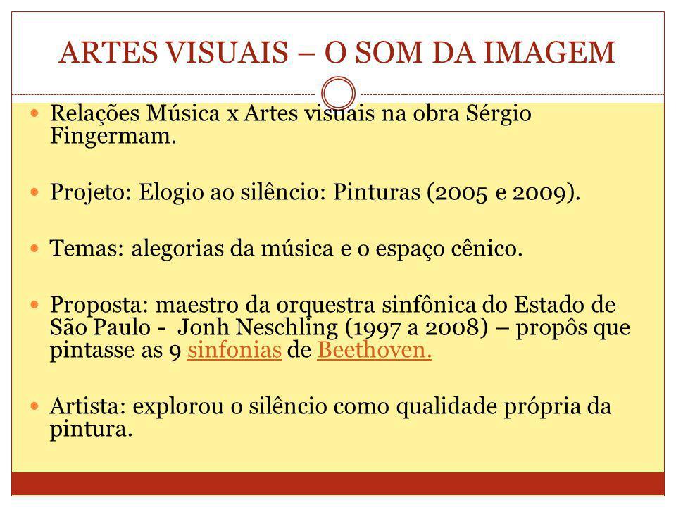 ARTES VISUAIS – O SOM DA IMAGEM