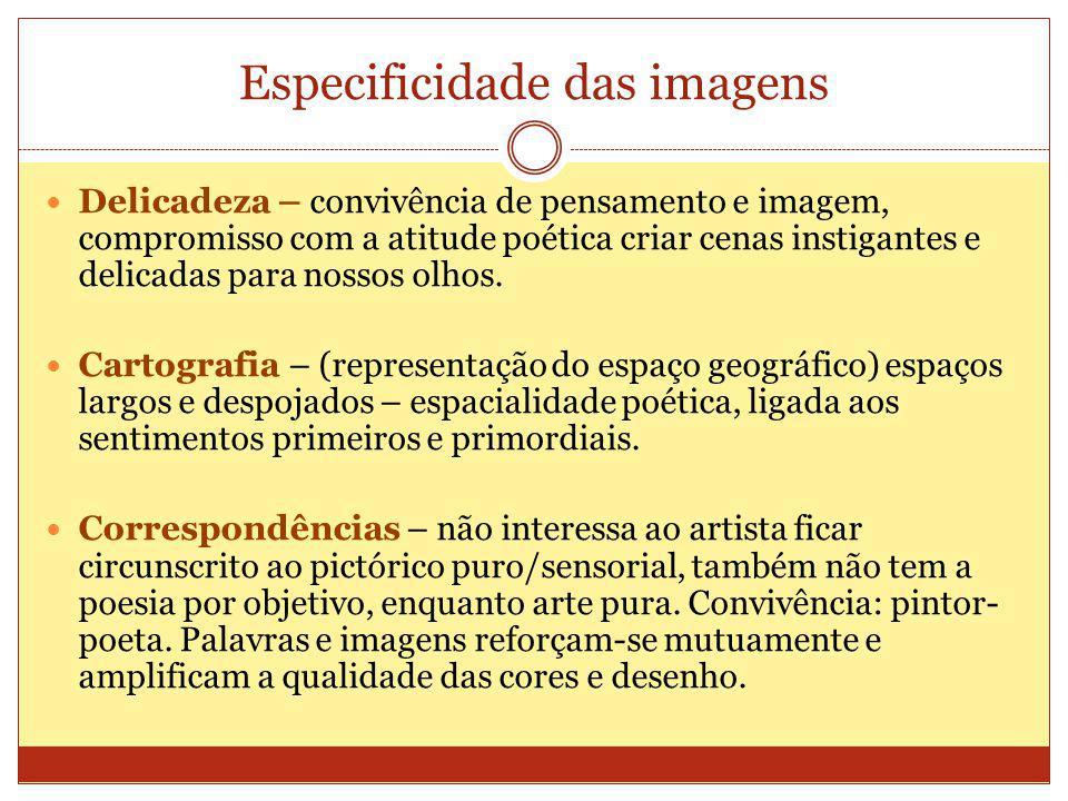 Especificidade das imagens