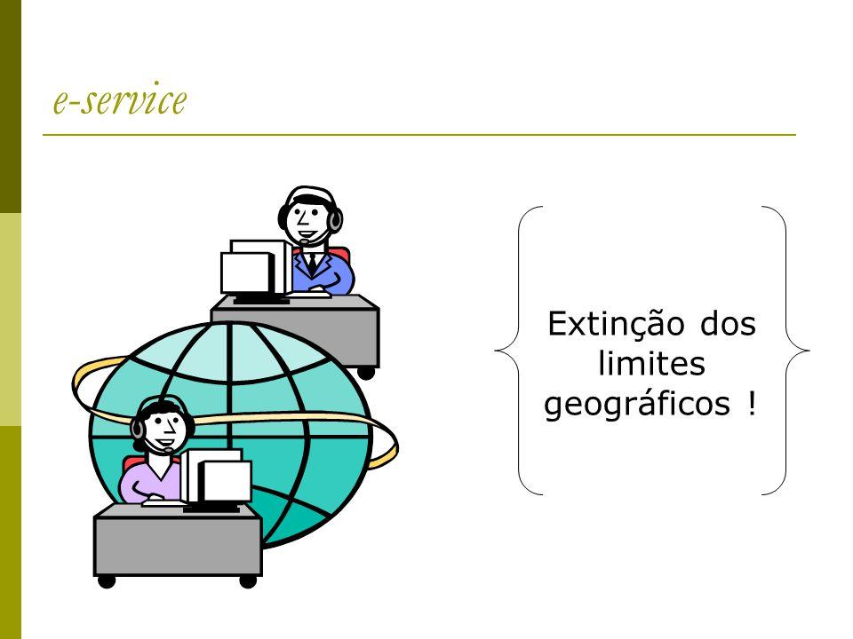 Extinção dos limites geográficos !