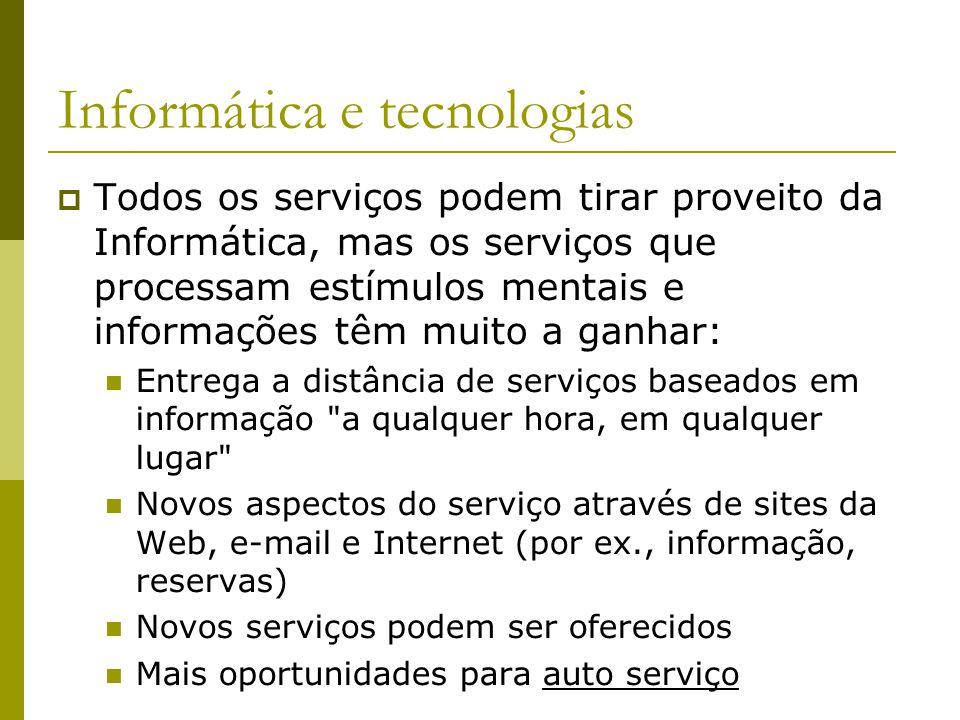 Informática e tecnologias