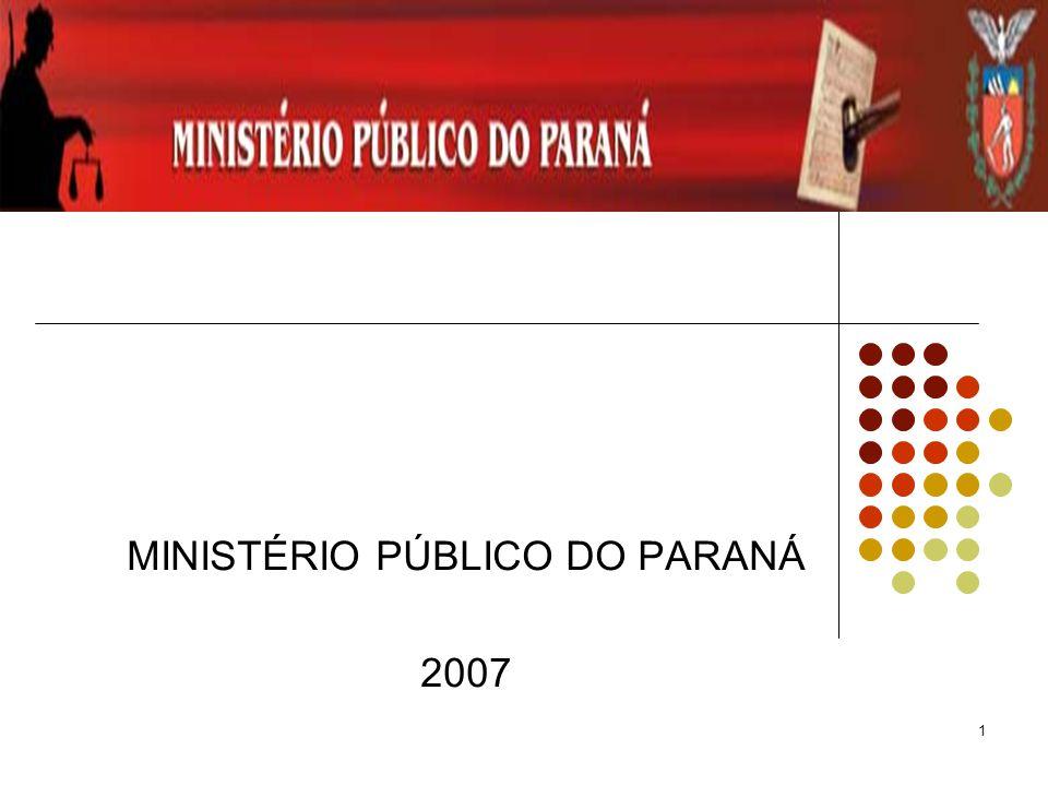 MINISTÉRIO PÚBLICO DO PARANÁ 2007
