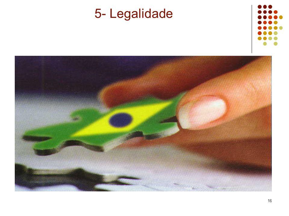 5- Legalidade