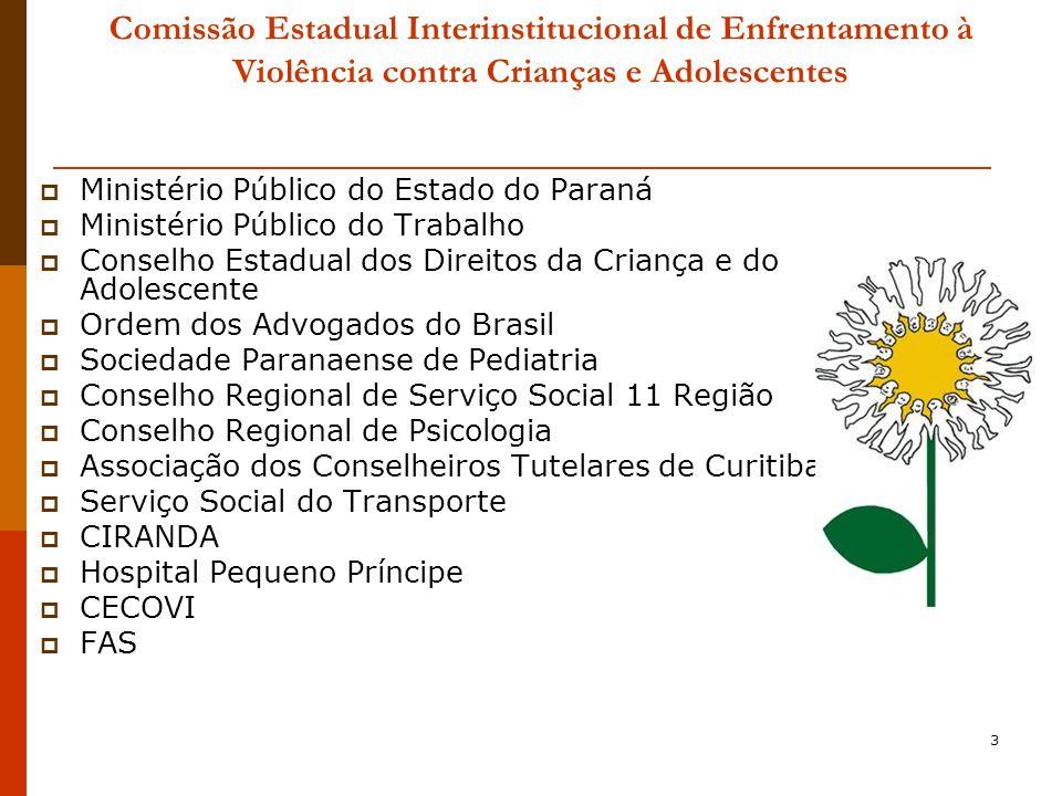 Comissão Estadual Interinstitucional de Enfrentamento à Violência contra Crianças e Adolescentes