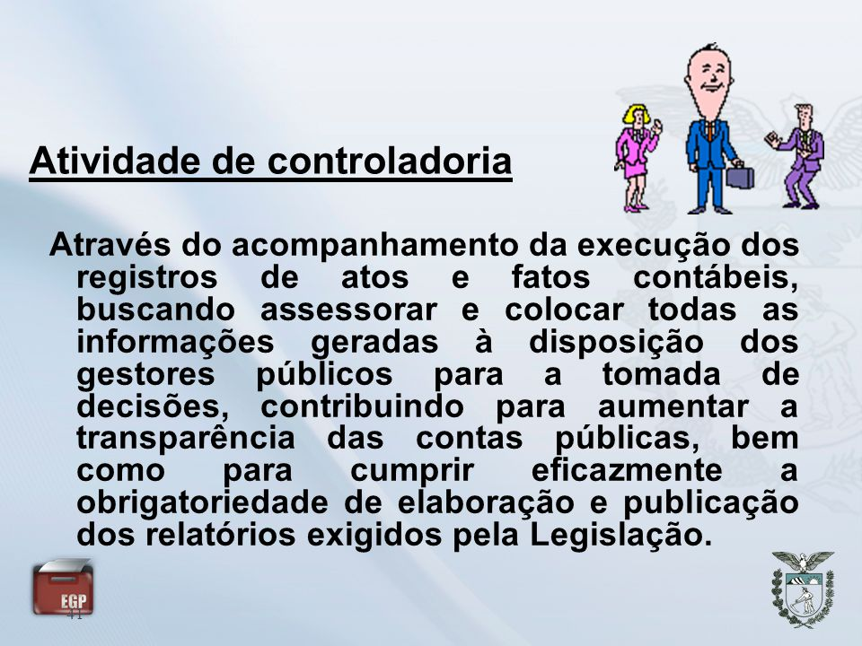 Atividade de controladoria
