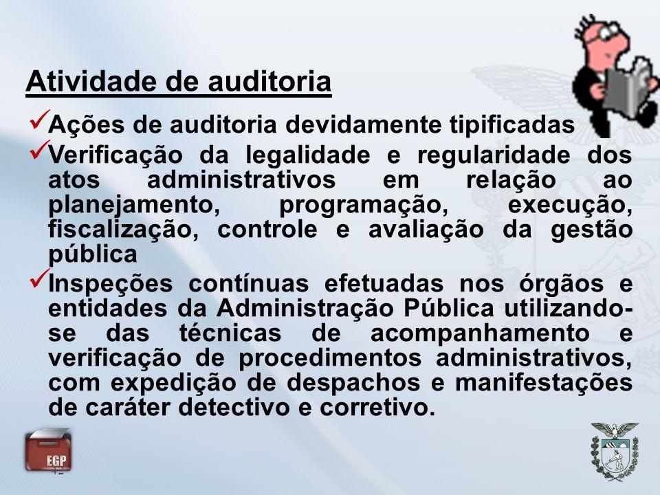 Atividade de auditoria