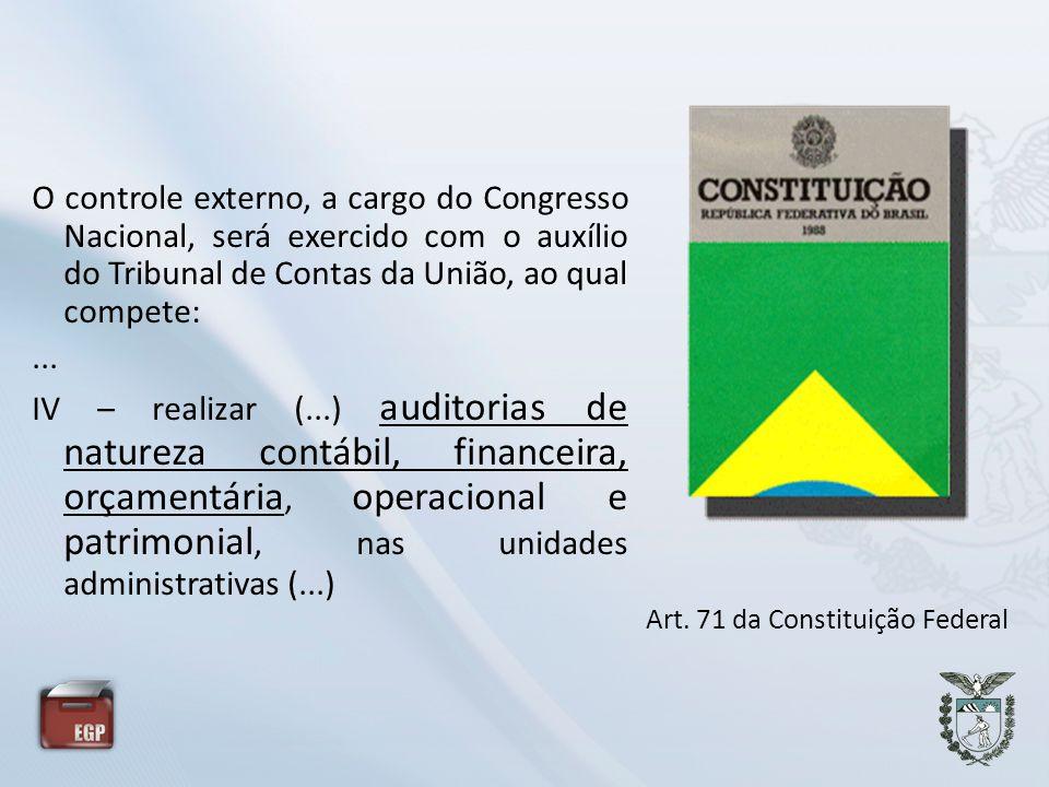 Art. 71 da Constituição Federal