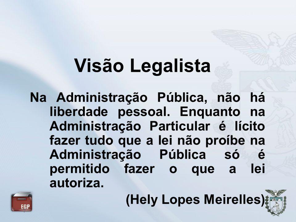 Visão Legalista