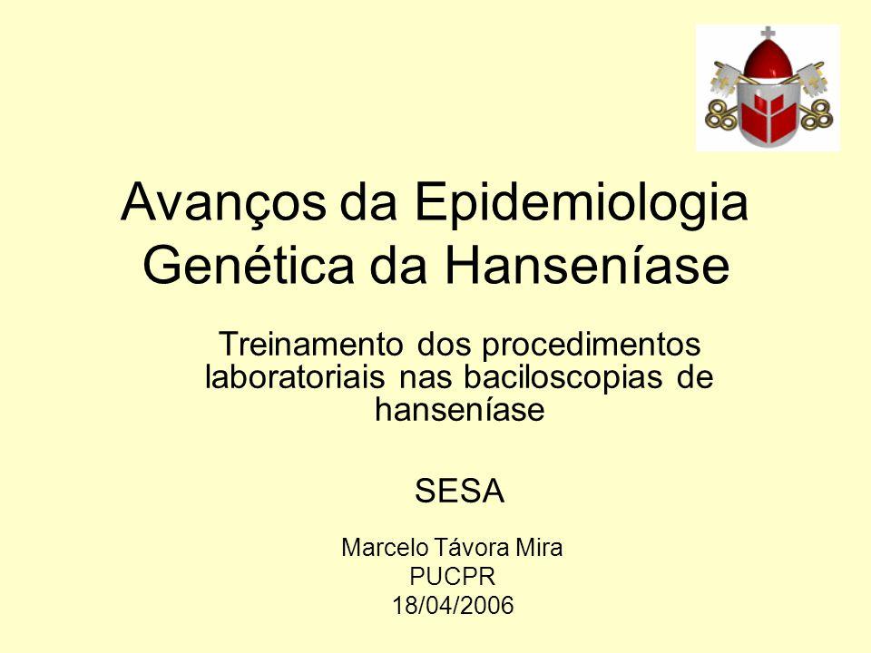 Avanços da Epidemiologia Genética da Hanseníase