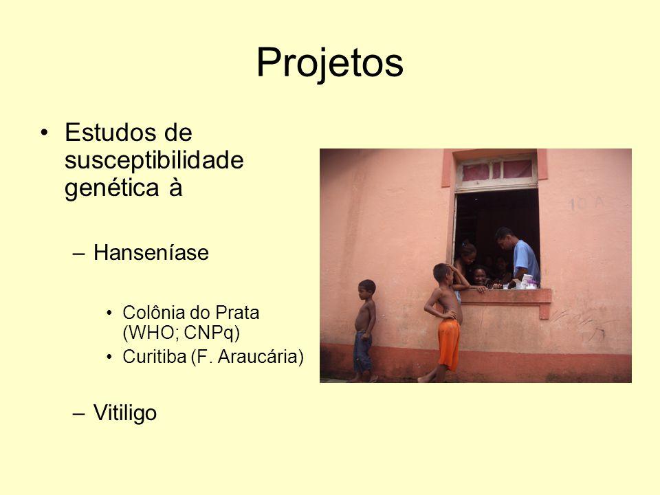 Projetos Estudos de susceptibilidade genética à Hanseníase Vitiligo