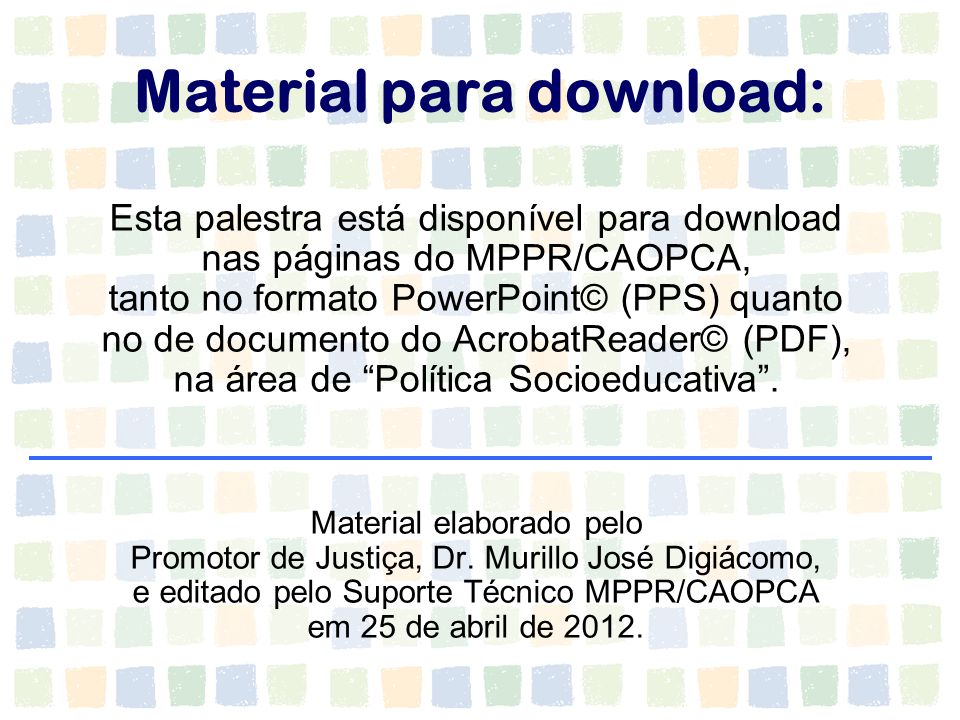 Material para download: