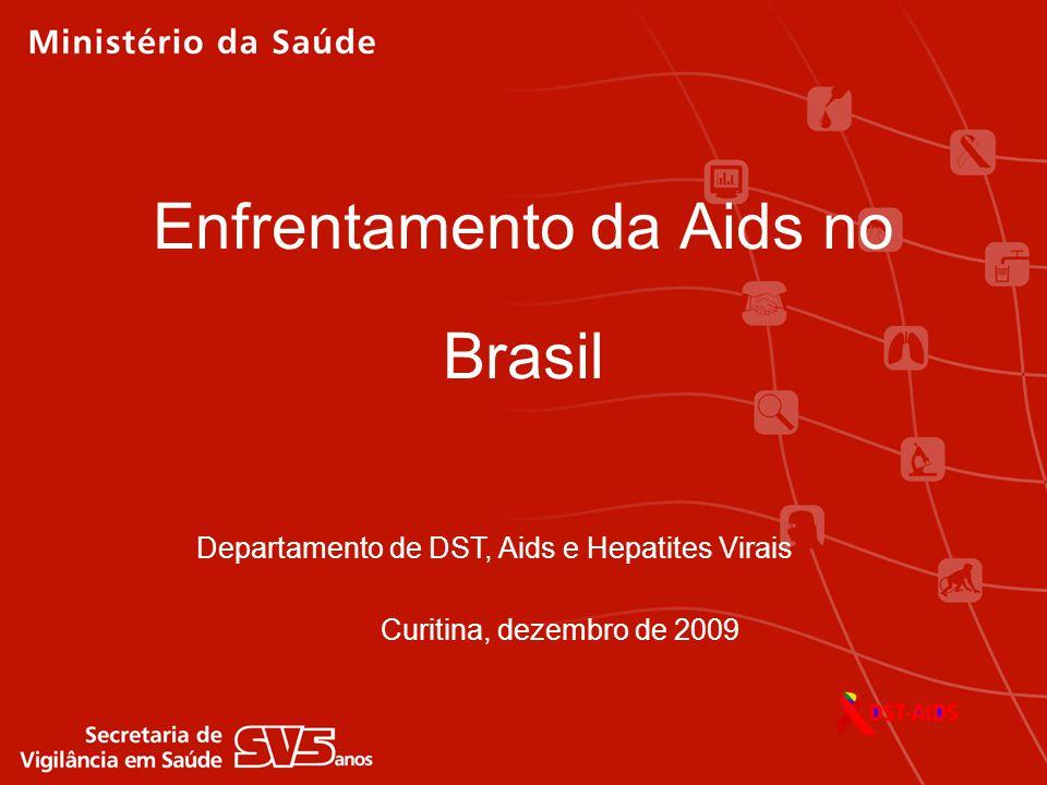 Enfrentamento da Aids no Brasil