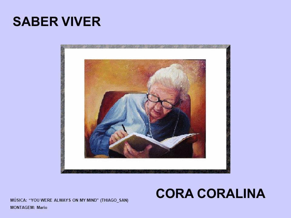 SABER VIVER CORA CORALINA