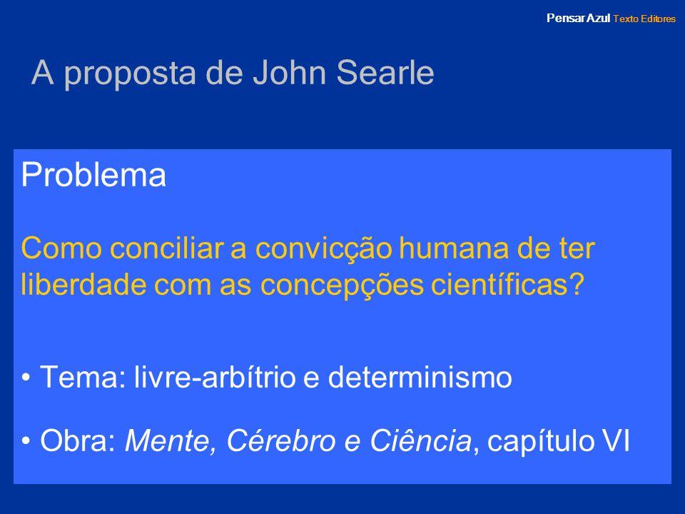 A proposta de John Searle