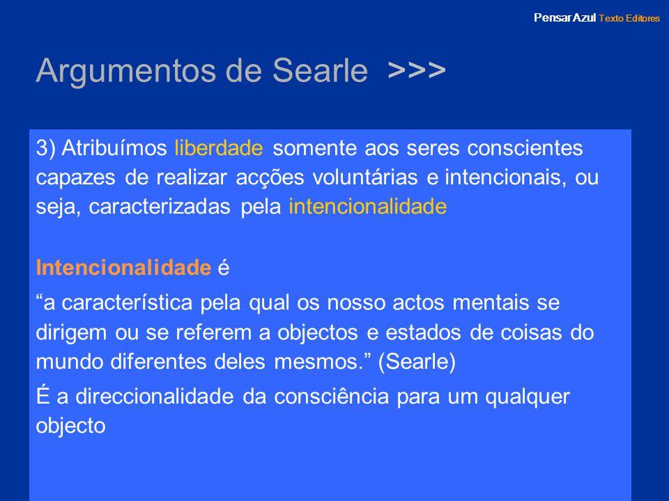 Argumentos de Searle >>>